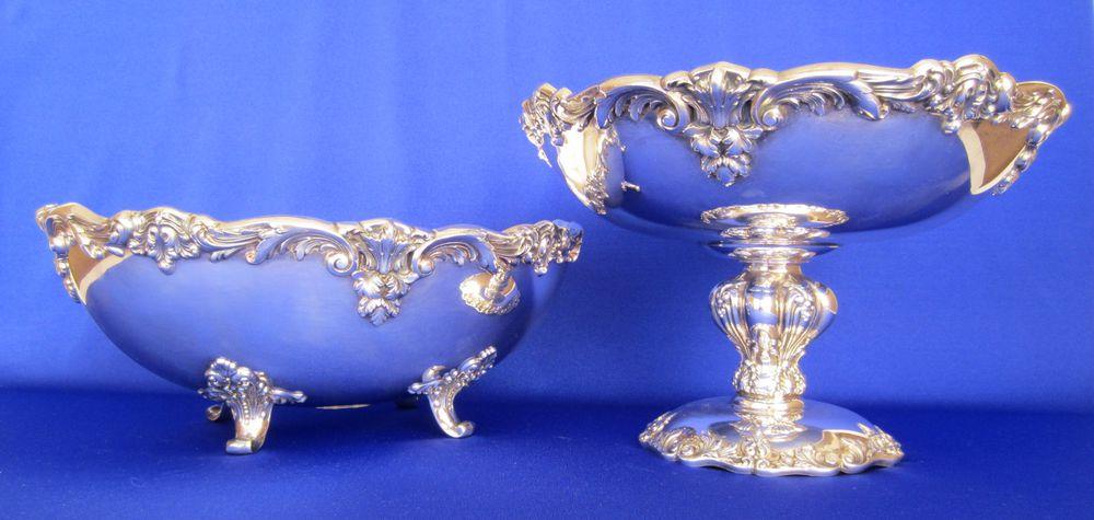 чаша серебрение
