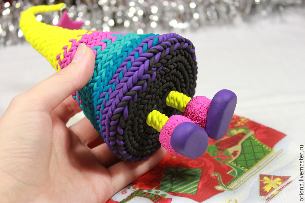 интерьерная игрушка, вязка