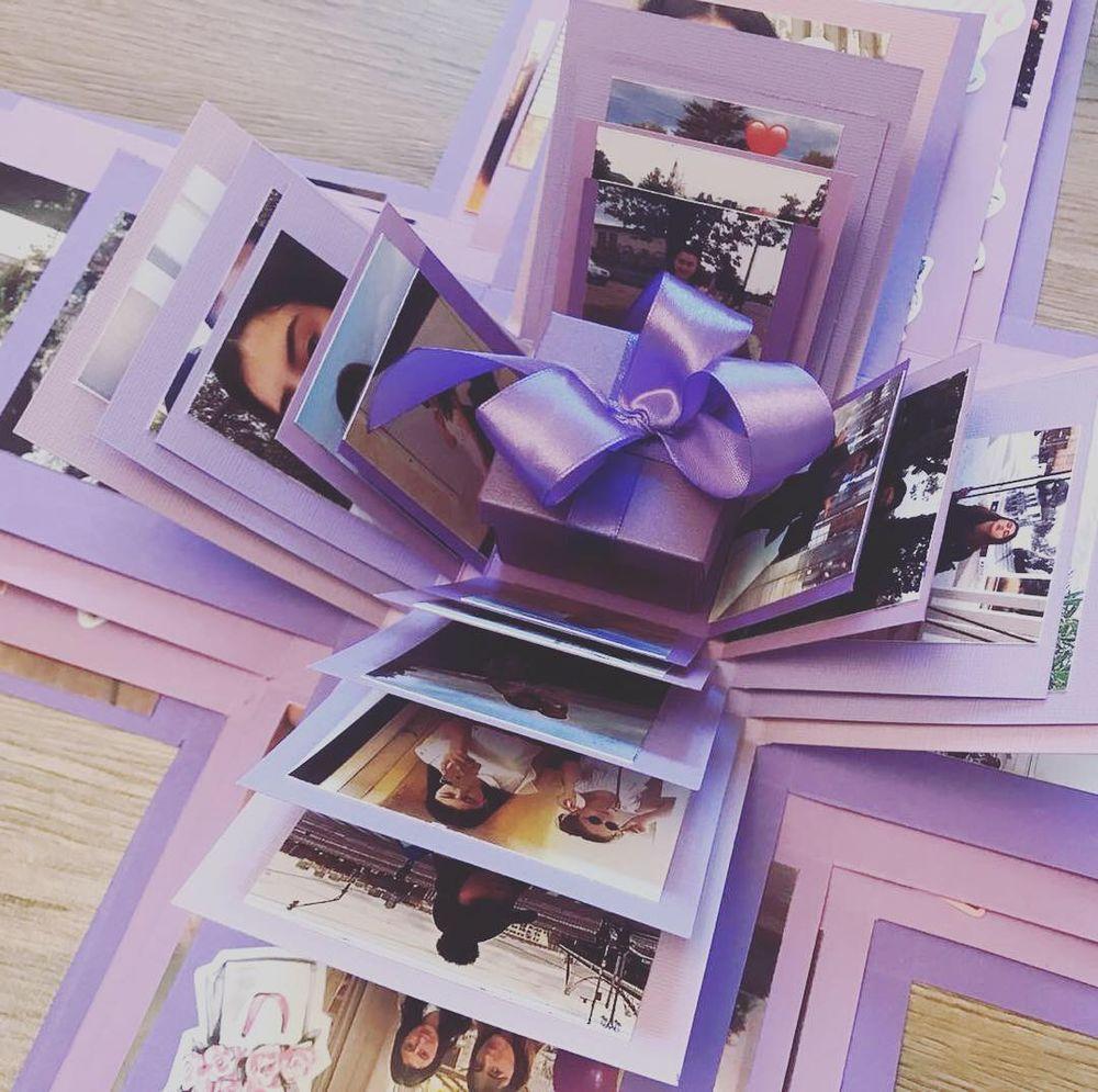 коробочка для фотографий своими руками самых красивых
