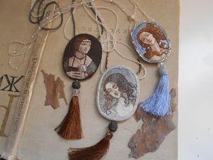Коллекция вышивки по произведениям Ренессанса. Ярмарка Мастеров - ручная работа, handmade.
