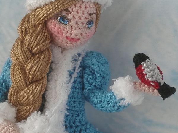 Моя авторская работа. Снегурочка | Ярмарка Мастеров - ручная работа, handmade