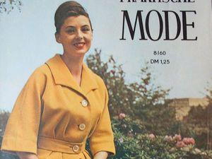 Praktische Mode — старый немецкий журнал мод 8/1960. Ярмарка Мастеров - ручная работа, handmade.
