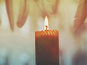 Алхимия восковой свечи - о свойствах воска и огня. Ярмарка Мастеров - ручная работа, handmade.