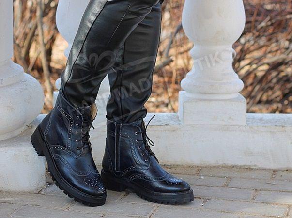 зимняяобувь, обувь ручной работы