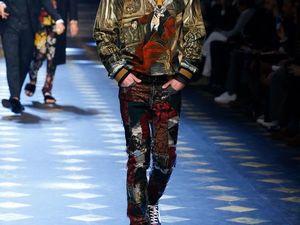 Стильная мужская коллекция Dolce&amp&#x3B;Gabbana Fall-Winter 17/18. Ярмарка Мастеров - ручная работа, handmade.