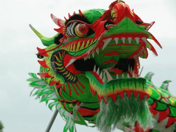 Фантастические китайские драконы