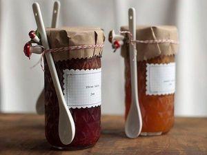 Заготовки на зиму: как украсить баночки. Ярмарка Мастеров - ручная работа, handmade.