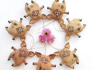 Не пропустите! Сегодня размещу МК по самой популярной сейчас моей игрушке — Кофейной свинке. Ярмарка Мастеров - ручная работа, handmade.