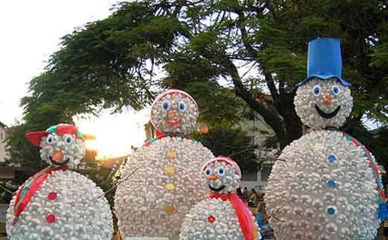 Christmas Decorations from Recycled Materials, фото № 22