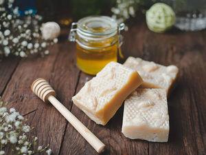 Свежая партия медового мыла