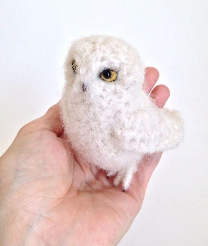 Вот-вот взлетят: реалистичные вязаные птицы Jose Heroys, фото № 23