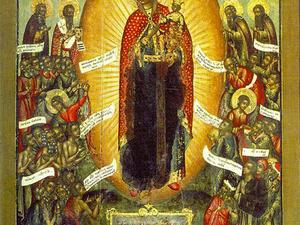 """6 ноября — Иконы Божией Матери """"Всех скорбящих Радость"""". Ярмарка Мастеров - ручная работа, handmade."""