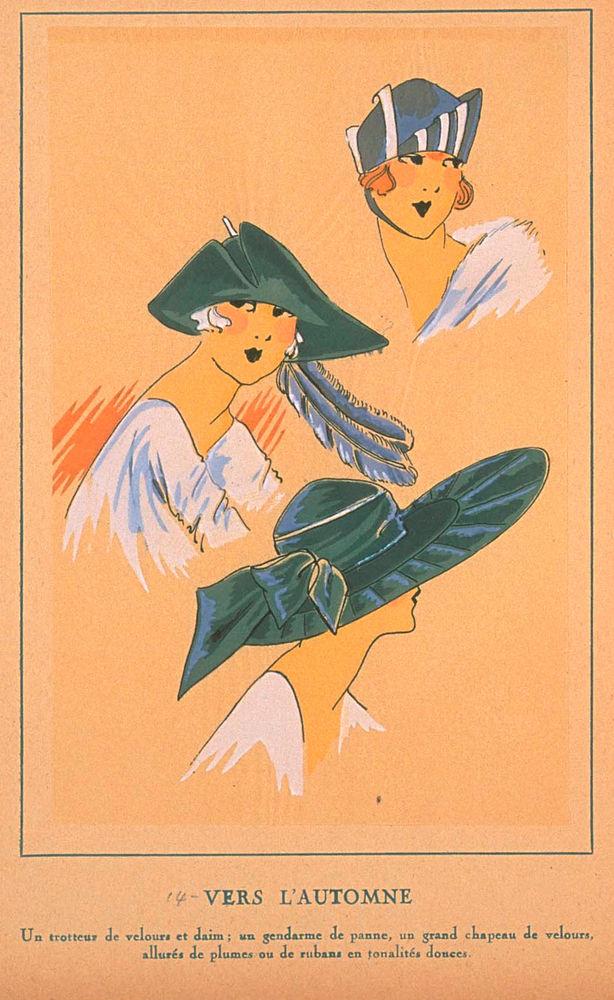 Ах, какие шляпки! Шляпная мода 1922 года по версии французского журнала «Les chapeaux du Tres parisien». Часть 2, фото № 35