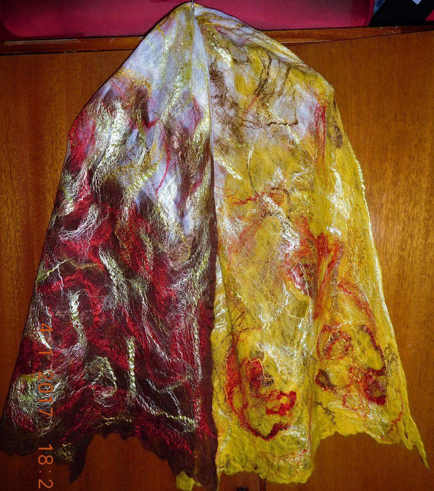 вяляние, шарф