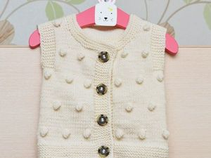 Knitting Vests for Kids — Ideas for Inspiration!. Livemaster - handmade
