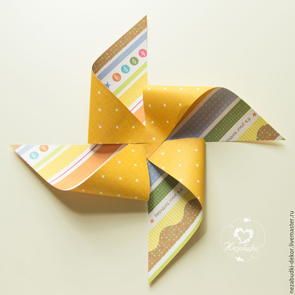 DIY for Kids and Parents: Making a Paper Wind Mill, фото № 10