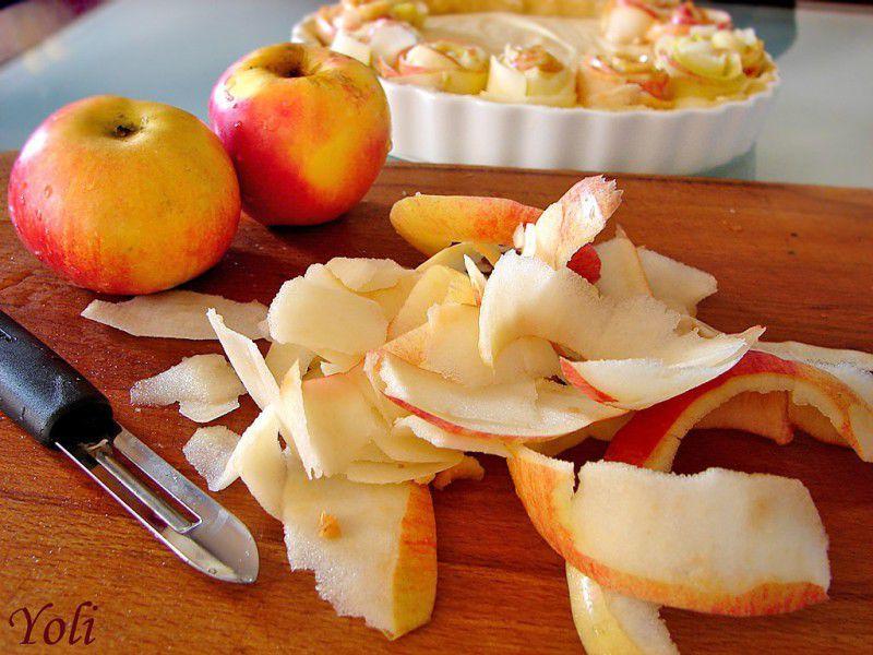яблочный, пирог, вкусный