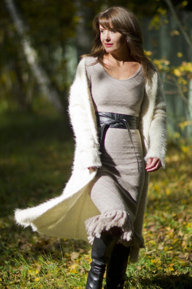 новая коллекция, платье вязаное