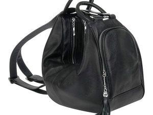 Сумка-рюкзак -трансформер из натуральной кожи!. Ярмарка Мастеров - ручная работа, handmade.