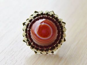 Видео. Пять колец.Вышивка бисером.. Ярмарка Мастеров - ручная работа, handmade.