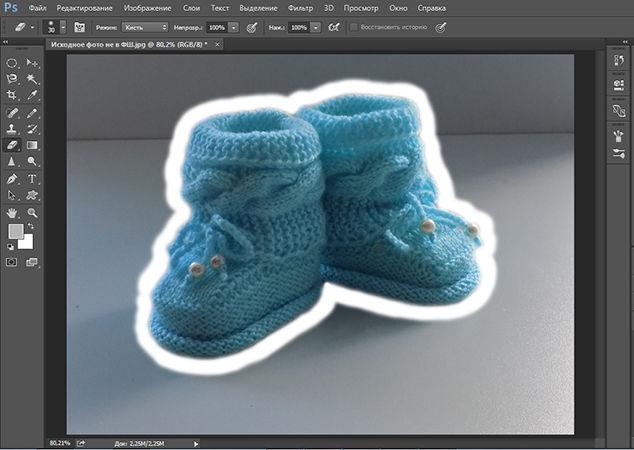Как сделать белый фон в программе Photoshop быстро и просто, фото № 7