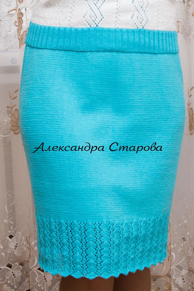 акция, юбки вязаные, юбки из хлопка, ажурные юбки, подарок к юбочке