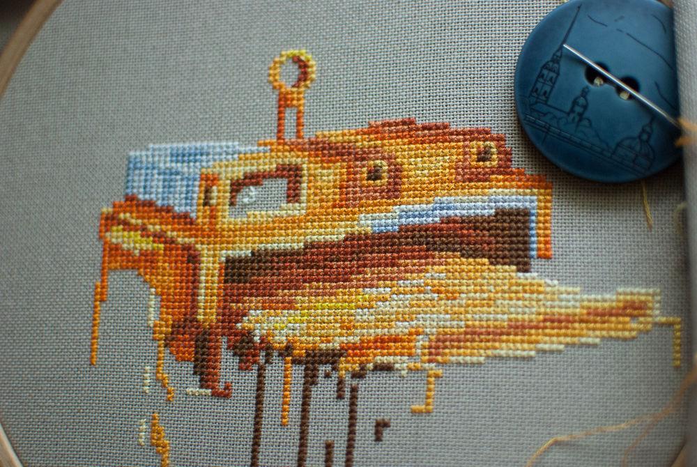 процесс работы, процесс создания, вышивка крестом, вышивка на заказ