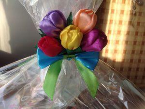 Тюльпанчики...яркие и нежные. | Ярмарка Мастеров - ручная работа, handmade