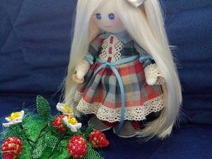 Как сделать волосы для куклы своими руками. Ярмарка Мастеров - ручная работа, handmade.