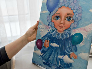 Ангел хранитель вашего ребенка!. Ярмарка Мастеров - ручная работа, handmade.