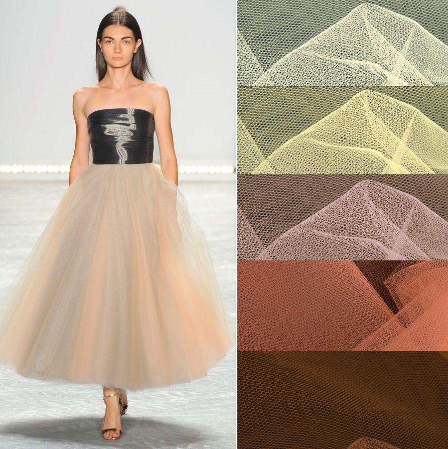 фатин, пышная юбка из фатина, ткани из италии, ткани для шитья, ткани для кукол, цветной фатин