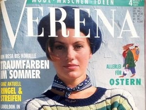 Verena № 4/1993. Содержание. Ярмарка Мастеров - ручная работа, handmade.