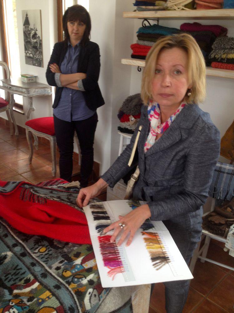 sirogojno style купить, ручное вязание, шерстяные перчатки