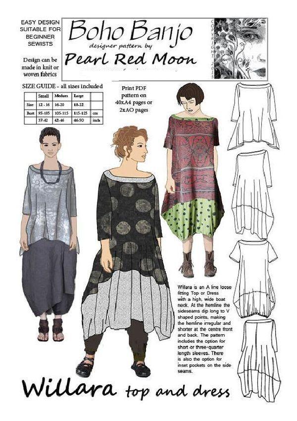 Модели в стиле бохо: шить или не шить, фото № 25