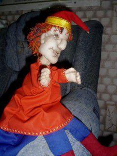 театральная кукла, текстильная кукла, кукла своими руками