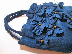 Шьем сумку из старых джинсов: видео мастер-класс. Ярмарка Мастеров - ручная работа, handmade.