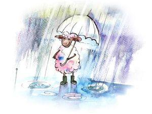 """Акция октября   """"В шерстиклоке нет плохой погоды..."""". Ярмарка Мастеров - ручная работа, handmade."""