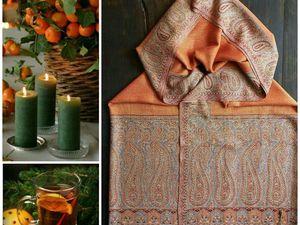 Предновогодний розыгрвш чудесной шали !. Ярмарка Мастеров - ручная работа, handmade.
