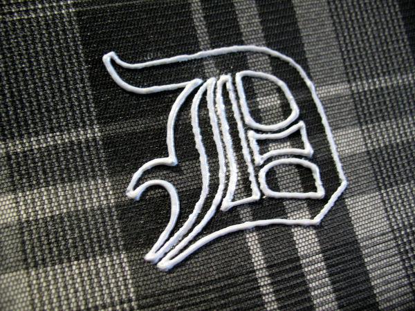 Как перенести рисунок на темную ткань с помощью иглы и мела | Ярмарка Мастеров - ручная работа, handmade