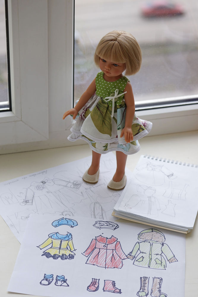 шитье на кукол