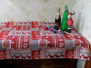 Новогодние скатерти!!!. Ярмарка Мастеров - ручная работа, handmade.