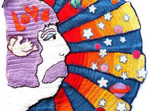 Вязание фриформ, грандиозная совместная работа: 50 Years of Flower Power. Ярмарка Мастеров - ручная работа, handmade.