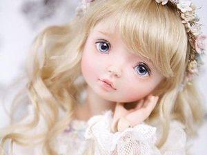 Фарфоровая кукла. Волшебство рождения.... Ярмарка Мастеров - ручная работа, handmade.