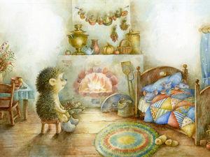 вНочьДоброЕжиковое.. | Ярмарка Мастеров - ручная работа, handmade