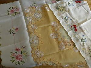Распродажа столового текстиля. Добавлено еще 15 скатертей!. Ярмарка Мастеров - ручная работа, handmade.