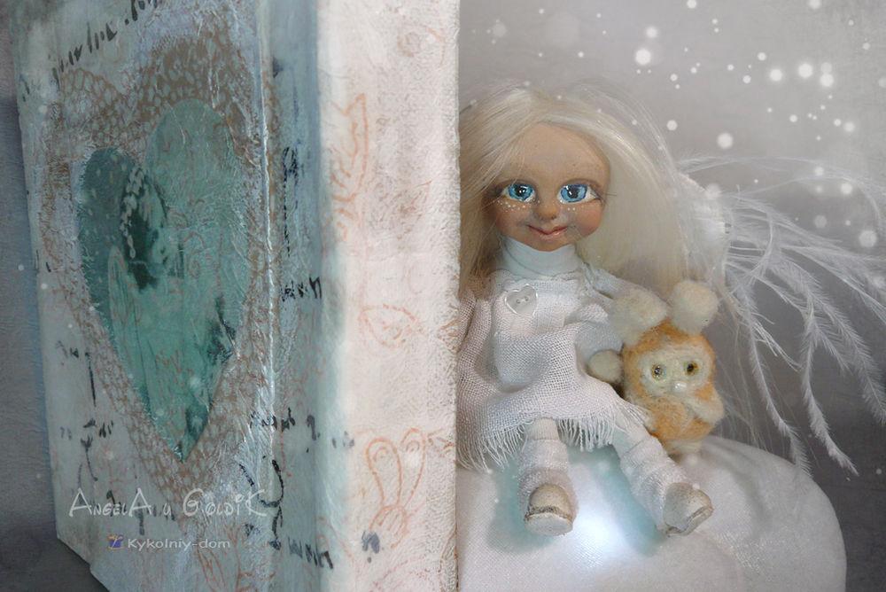 AngelA и GoldiK авторсккая кула и игрушка