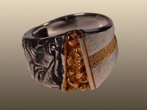 Серебряное кольцо Шторм (видео). Ярмарка Мастеров - ручная работа, handmade.