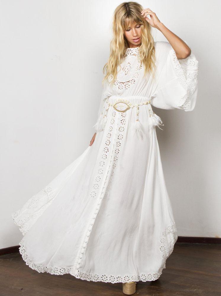 Белое бохо, или Шикарная одежда для королевы летнего пляжа, фото № 36