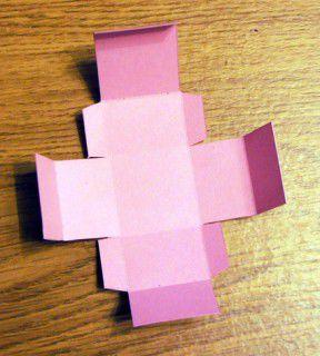 Как сделать коробку из бумаги самостоятельно