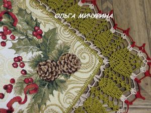 Как использовать новогодние гобеленовые салфетки в качестве заготовок для творчества?. Ярмарка Мастеров - ручная работа, handmade.